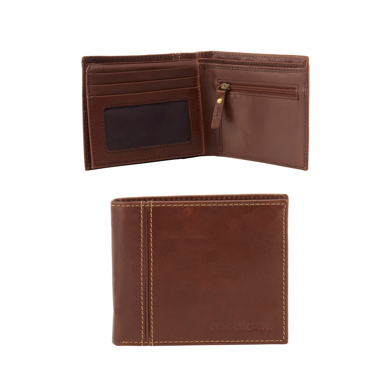 Mens leather gloves at debenhams - John Rocha Brown Leather Wallet In A Gift Box