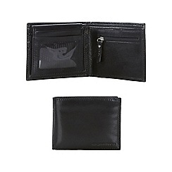 RJR.John Rocha - Black Italian leather billfold wallet in a gift box