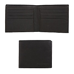 RJR.John Rocha - Designer black soft leather billfold wallet