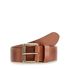 Mantaray - Brown leather belt