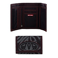 Animal - Black logo trifold wallet