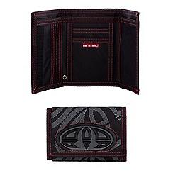 Animal - Black logo trifold wallet