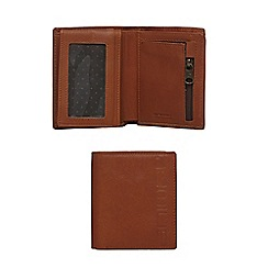Animal - Brown leather billfold wallet