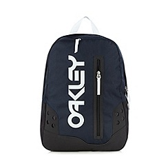 Oakley - Navy contrast trim backpack