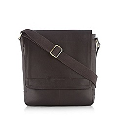 RJR.John Rocha - Designer brown leather cross body bag
