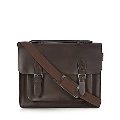 J by Jasper Conran - Designer brown leather satchel bag