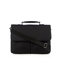 J by Jasper Conran - Designer black laptop bag