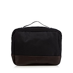 Jeff Banks - Designer black fold down wash bag