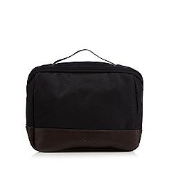 Jeff Banks - Designer black fold down wash bag