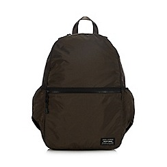 RJR.John Rocha - Designer khaki canvas backpack