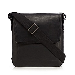 J by Jasper Conran - Designer black leather small utility bag