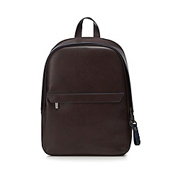 RJR.John Rocha - Designer brown leather holdall