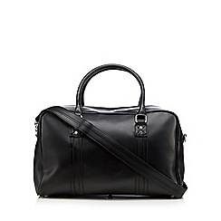 Ben Sherman - Black detachable shoulder strap holdall bag
