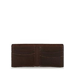 J by Jasper Conran - Designer brown leather wallet