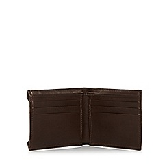 Mantaray - Brown leather pull out ID wallet