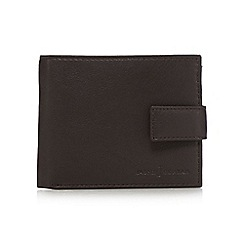 J by Jasper Conran - Designer brown leather tab wallet