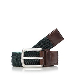 Hammond & Co. by Patrick Grant - Designer green elasticated belt