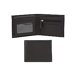 RJR.John Rocha - Black leather pull out ID wallet in a gift box