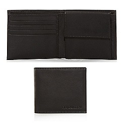 RJR.John Rocha - Designer black leather wallet