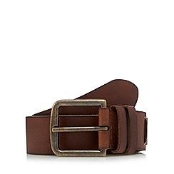 RJR.John Rocha - Designer brown double keeper belt