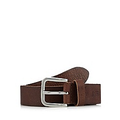 RJR.John Rocha - Designer brown leather pin buckle belt