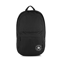 Converse - Black logo backpack