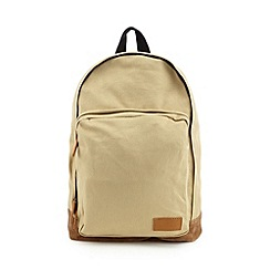 Red Herring - Natural canvas backpack