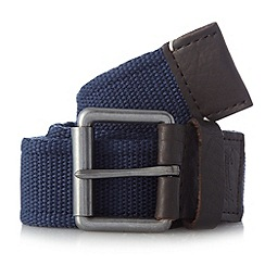 Mantaray - Navy pin buckle belt