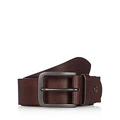 RJR.John Rocha - Designer brown tab detail leather belt