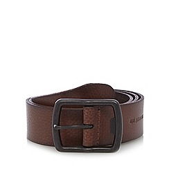 RJR.John Rocha - Designer brown luxury leather belt