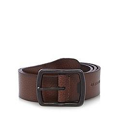 RJR.John Rocha - Big and tall designer brown luxury leather belt