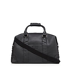 Jeff Banks - Designer black matte holdall bag