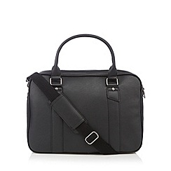 Jeff Banks - Designer black matte laptop bag