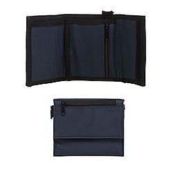 Mantaray - Navy ripstop wallet