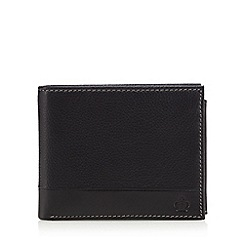 Jeff Banks - Designer black leather wallet