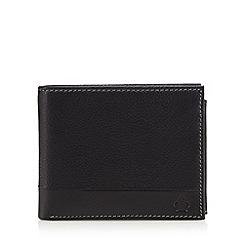 Jeff Banks - Designer black leather wallet