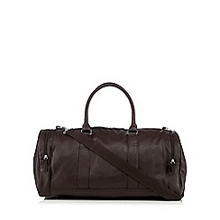 Red Herring - Dark brown gym bag