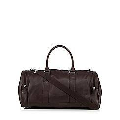 Red Herring - Dark brown gym bag