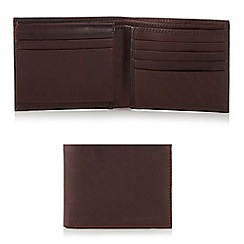 RJR.John Rocha - Designer brown L shaped leather wallet