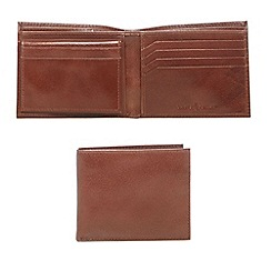 J by Jasper Conran - Designer tan leather billfold wallet