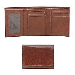J by Jasper Conran - Designer tan leather trifold wallet