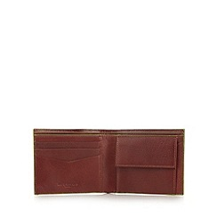 Jeff Banks - Designer tan leather wallet