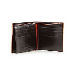 Jeff Banks - Designer brown leather wallet
