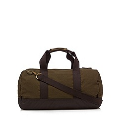 Mantaray - Khaki canvas barrel holdall