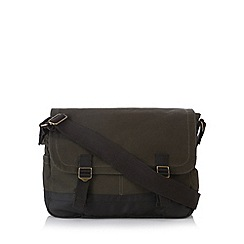 Mantaray - Khaki canvas despatch bag