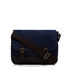 Mantaray - Navy canvas despatch bag