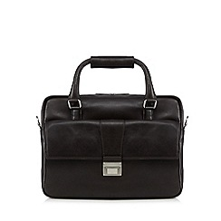 Hammond & Co. by Patrick Grant - Brown two handle business bag