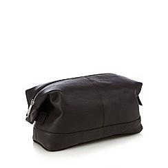 Hammond & Co. by Patrick Grant - Designer brown leather wash bag