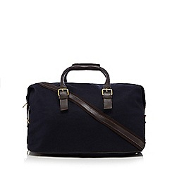 Hammond & Co. by Patrick Grant - Navy canvas holdall bag