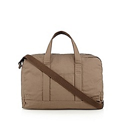 RJR.John Rocha - Designer natural canvas holdall bag